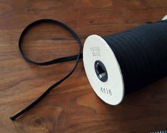 Black corset lace per mtr