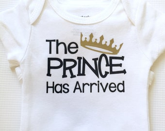 The Prince has Arrived Bodysuit