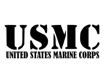 USMC HOLOGRAPHIC LOGO DECAL