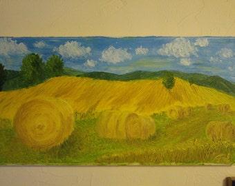 Le balle di fieno - the hay bales