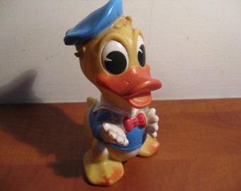 Old vintage Walt Disney Gummi Donald Duck ... 60's!