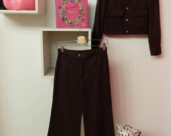 Complete vintage wool jacket and trousers