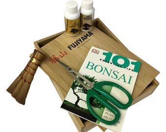 4 Piece Starter Kit In Bamboo Box (3S4)