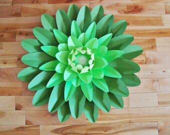 2-tone Giant Gerbera Daisy -  Paper Daisy, Paper Daisies | Paper Flower Daisy | Paper Flower Decor | Gerber Daisy | Gerbera Daisy