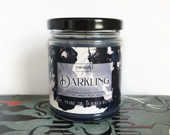 The Darkling | The Grisha Trilogy Inspired 4oz. or 8oz. Scented Soy Candle
