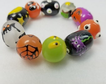 Witchy Boots Halloween Bracelet