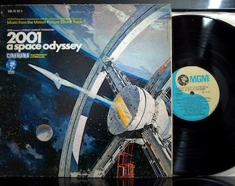 Soundtrack LP - 2001 a Space Odyssey, Stanley Kubrick Film, MGM