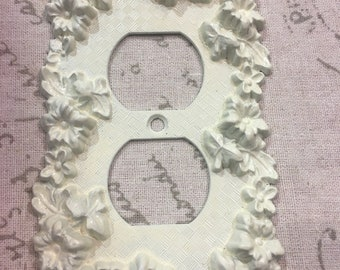 Ornate Vintage outlet cover-Shabby Chic