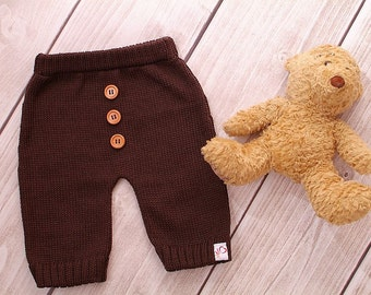 Baby knit pants color