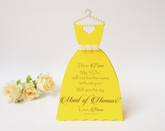 Bridesmaid Will you be my Bridesmaid Card  Thank you for being my Bridesmaid Wedding Party Proposal Bridesmaid Card Ask Bridesmaid