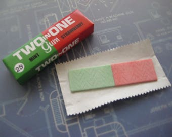 Mission Impossible - Two in One Gum Pack & Stick of Gum ( 99.9 SCREEN ACCURATE)