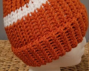 Orange Winter Beanie