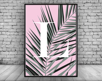 Leaf Print;Personalisation;Home Decor;Wall Hanging;Art;Wall Print;Poster;Wall Decor;Gift;Modern