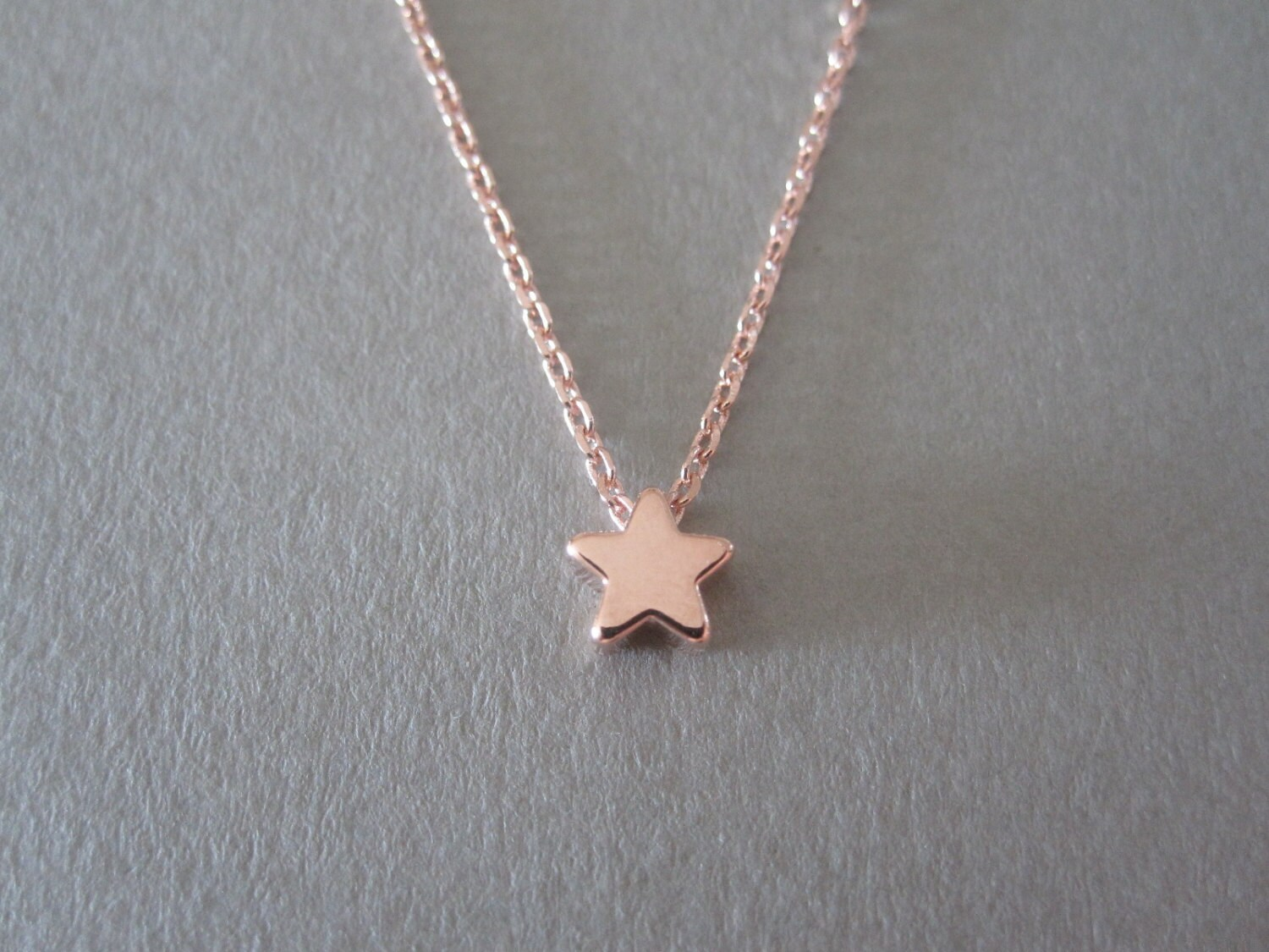 star gold minim necklace tiny elegant on delicate necklaces chain small jewelry dainty pendant