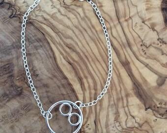 Bracelet Silver Circles