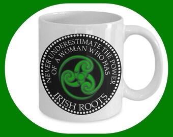 Irish Gifts - Unique Coffee Mug - Irish Mug - St Patrick's Day gift - Gifts For Her - Gifts For Women - Ireland gift