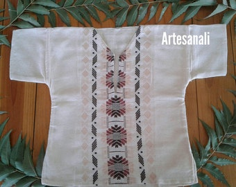 Mexican Embroidered Guayabera  boys