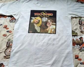 Vintage 1970's Trooper T-shirt