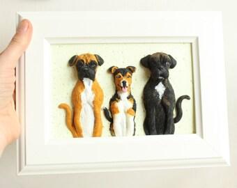 Custom dog portrait, custom pet portrait, personalized pet portrait, dog owner custom gift, custom pet art, custom dog art, pet memorial