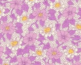 Feedsack Lavender 30's Reproduction 7948-25 from Sara Morgan for Blue Hill Fabrics