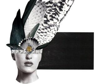 Fine Art Giclee Print 'Night Owl,