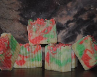 Christmas Cookies rustic gingerbread and sugar cookie scented bar soap