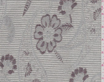 Silver Sage Floral Tapestry, Fabric By The Yard