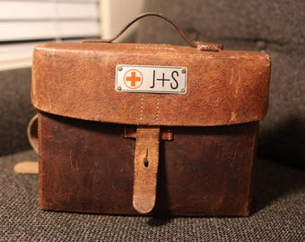 Vintage World War II Medicine Bag