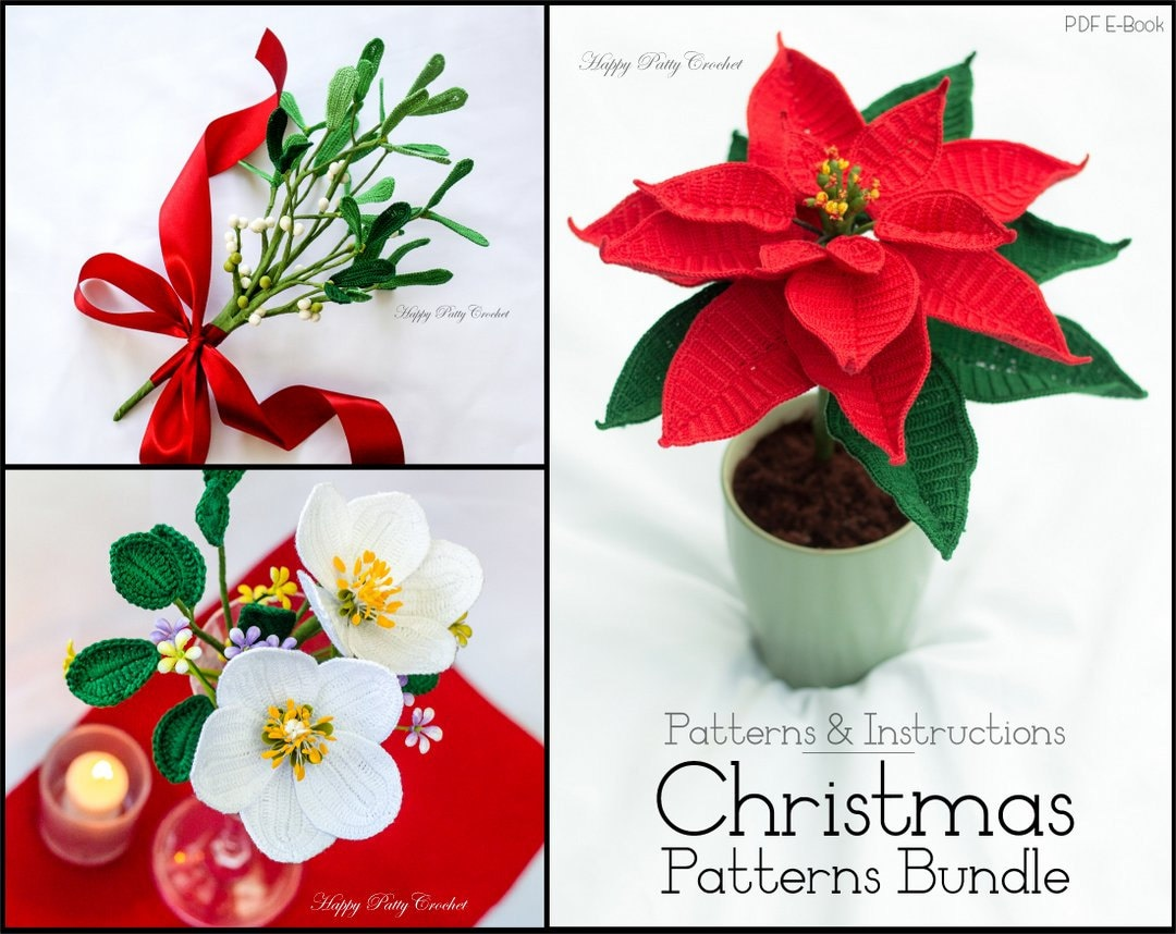 Christmas crochet pattern bundle crochet christmas patterns zoom bankloansurffo Image collections