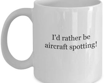 Aircraft spotting, coffee mug, civil aircraft, aviation décor, aviation, airplane, aircraft, pre wwii aircraft, vintage aircraft