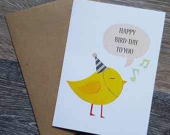 Happy Birthday Card, Funny Birthday Card, Pun Birthday Card, Pun Card, Cute Birthday Card, Birthday Card Funny, Birthday Card for Friend