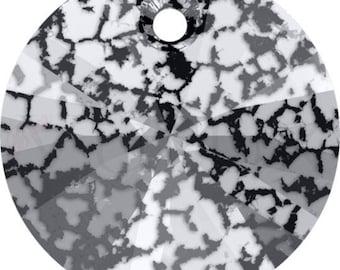 Swarovski XILION 6428  6 MM Black Patina