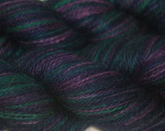 "Silk/ Cashmere Yarn Hand-painted ""Rowena"""