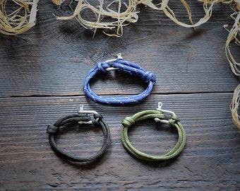 Mens Bracelet Chain Bracelet Men Black Bracelet Men Blue Bracelet Men Green Bracelet Men Colorful Bracelet Men