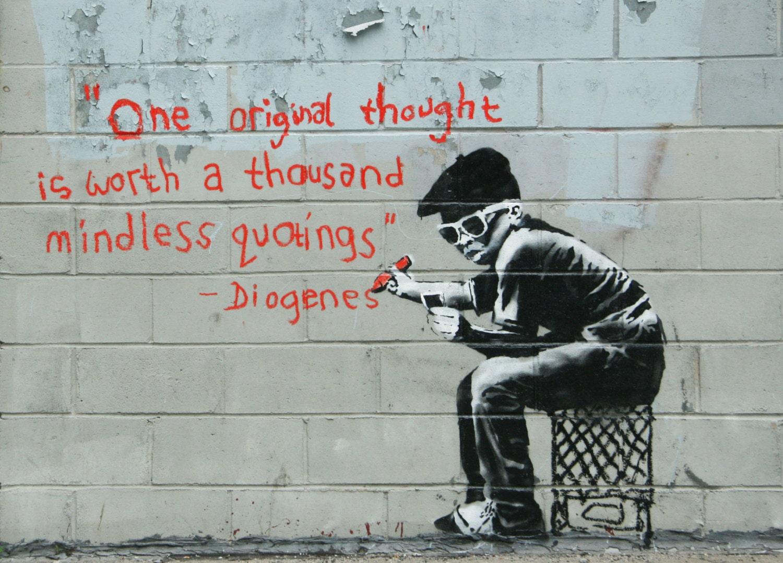 皮肉が面白いストリートアート