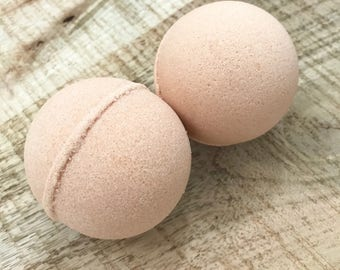 Bath Bomb | Pink Grapefruit | Bath Fizzy | Fizzy Bath Bomb | Handmade Bath Bomb | Clay | Gift for Her | Bath | Spa Treat | Bath Bombs