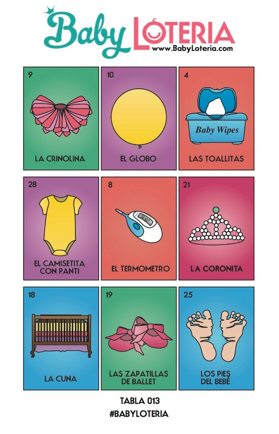 Crush image throughout loteria game printable