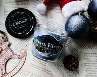 White Winter candle 230ML soy/vegan