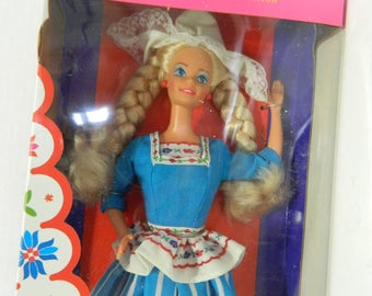 Dutch Barbie Dolls of the World Collection Mattel 1993 Special Edition NRFB