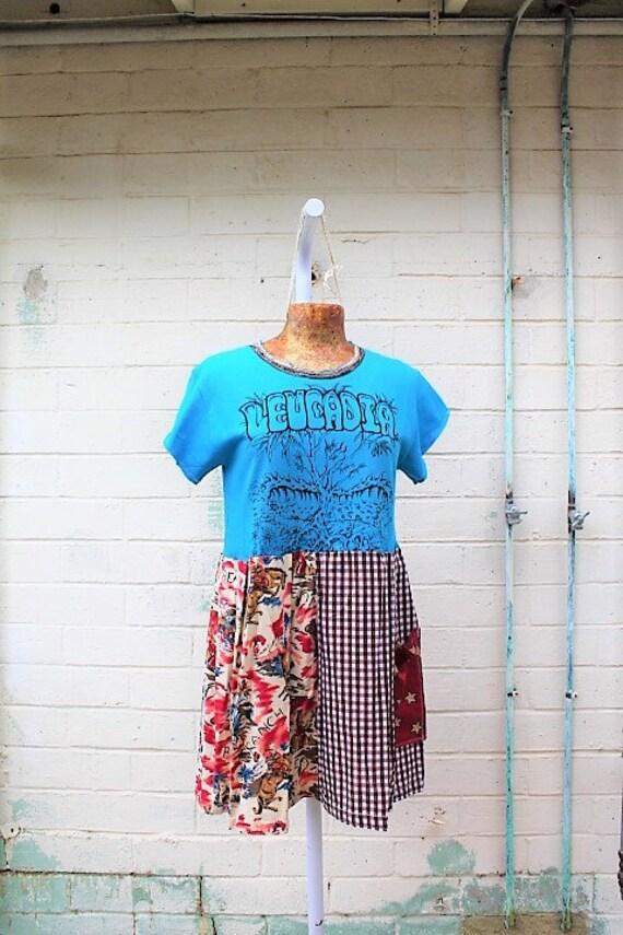 Medium Leucadia Babydoll Dress/leucadia california Dress/Beach dress/Encinitas California Dress/Leucadia Farmers Market/Vintage Surf dress