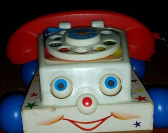 Vintage Fisher Price toy phone