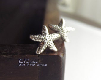 Clearance Starfish Stud Post Earrings, One Pair