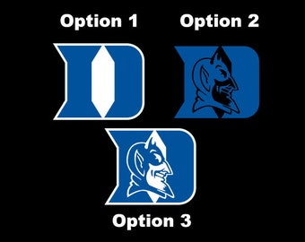 Duke Blue Devils - Die Cut Decal