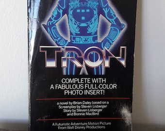 Vintage Classic Novel from a Film - TRON