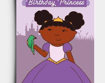 Birthday Princess - Birthday Card
