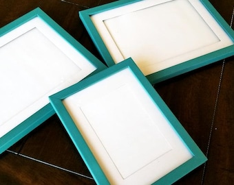 Custom Chalked Lightweight Picture Frames- 3 PACK (5x7)
