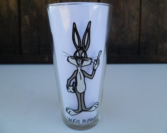 Bugs Bunny, Glass Pepsi Collector Series Warner Bros 1973