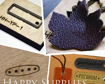 Custom Leather Die Cut Mold / Leather Cutting Die / Steel Rule Metal Die Cutter (Leather / Paper / Plastic) - Custom Steel Leather Punch