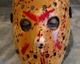 Friday the 13th Jason Mask... custom finish