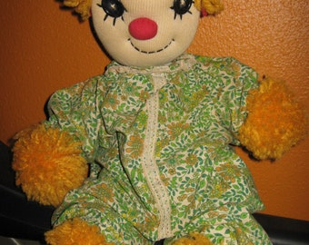 Handmade Vintage Clown
